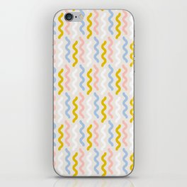 Squiggles and Wiggles iPhone Skin