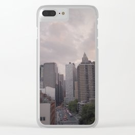 New York on Kodak Portra 400 Clear iPhone Case