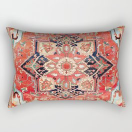 Heriz Azerbaijan Northwest Persian Rug Print Rectangular Pillow