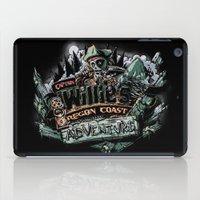 the goonies iPad Cases featuring Oregon Coast Adventure by TEEvsTEE