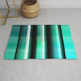 Pattern turquoise Rug