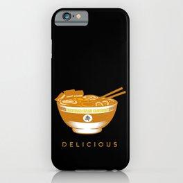 Super Delicious Food Japanes Noodles Ramen Design iPhone Case