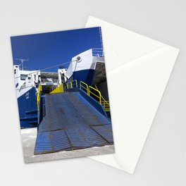 Ionian ferry Ramp Stationery Cards