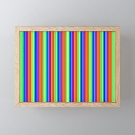 Incandescent Rainbow Framed Mini Art Print