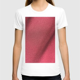 Red Polyester clothing texture. T-shirt