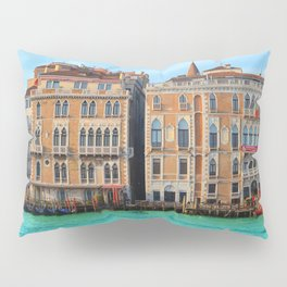Ca' Giustinian and Palazzo Bauer Pillow Sham