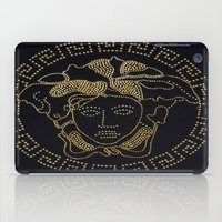 versace iPad Cases featuring Versace Gold by InteriorEpiphanies