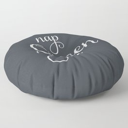 Nap Queen Charcoal Grey Floor Pillow