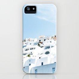 Lost in Santorini Greece iPhone Case