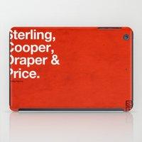 mad men iPad Cases featuring Mad Men   Sterling, Cooper, Draper & Price by Armando Medina