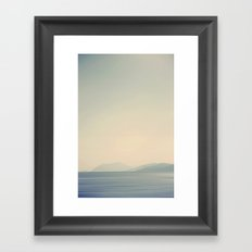 Ocean Breathes Salty Framed Art Print