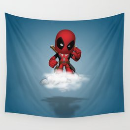 I'm Diedpool Flying Wall Tapestry