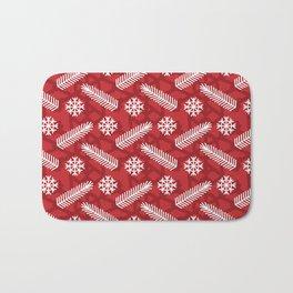 Snowflake Bath Mat