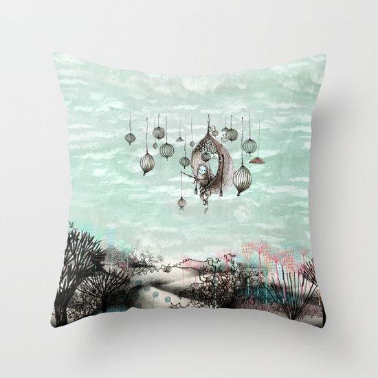 Dream throw pillow by nayoun kim society6 for Dream home season 6