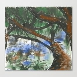 Bosque Canvas Print