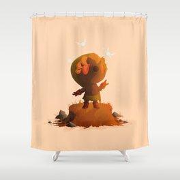 Deku Link | Majora's Mask Shower Curtain