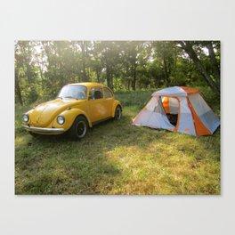 Outdoorsy Bug Canvas Print