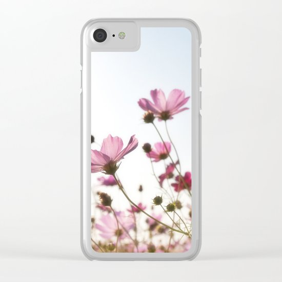 Plants flower Clear iPhone Case