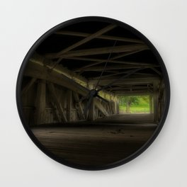 Bogert's Bridge - Interior Enhanced Wall Clock