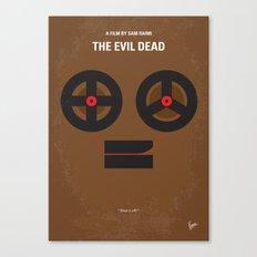 No380 My The Evil Dead minimal movie poster Canvas Print
