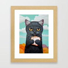 BEIGNET ALL DAY Framed Art Print