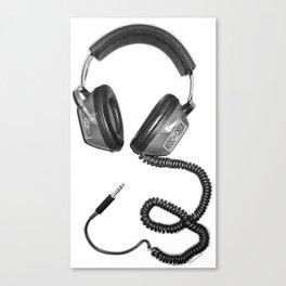 Headphone Culture Canvas Print