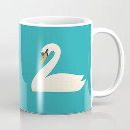 Beautiful white swan Coffee Mug