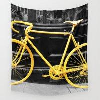 bike Wall Tapestries featuring Bike by afzucatti