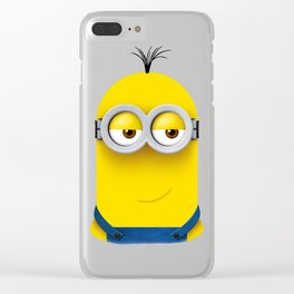 Minion KEVIN Clear iPhone Case