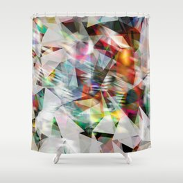 crystalline Shower Curtain