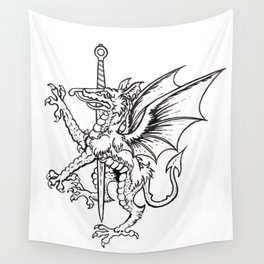 Logres Dragon Wall Tapestry