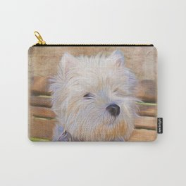Just One Look - Dog Art Carry-All Pouch