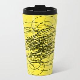 DEVOTIONAL SCRIBBLE Metal Travel Mug