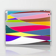 Abstract Lines & Color Laptop & iPad Skin