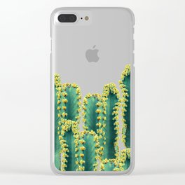 Adorned Cactus #society6 #artprints #buyart Clear iPhone Case
