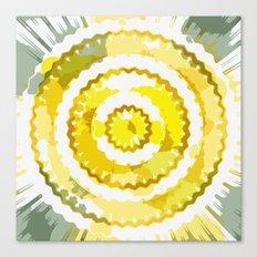 Digital and sunny Canvas Print