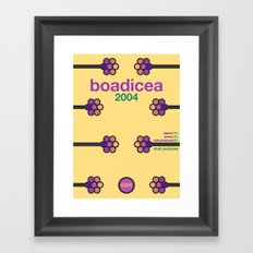boadicea single hop Framed Art Print