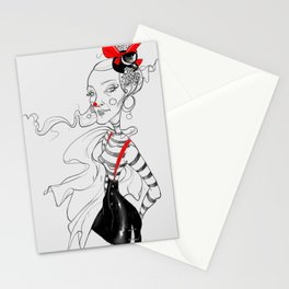 Don't mess with the Clown! Stationery Cards