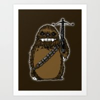 Chewtoro Art Print