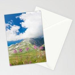 Italian mountain landscape Stationery Cards