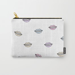 Lips Illustation Carry-All Pouch