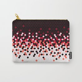 Flat Tech Camouflage Reverse Red Carry-All Pouch