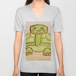 Happy turtle Unisex V-Neck