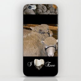 Wooly Love iPhone Skin