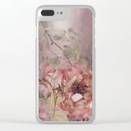 I Love Pink! Clear iPhone Case