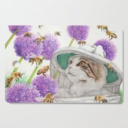Bee Cat Cutting Board