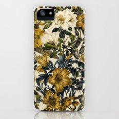 Warm Winter Garden iPhone SE Slim Case
