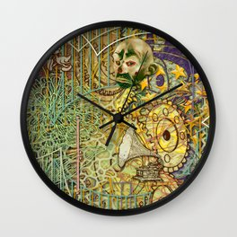 Grinding Out The Mean Layer (2) Wall Clock