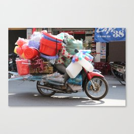 True cargo bike Canvas Print
