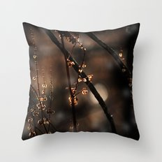Forest Shadow Spirits Throw Pillow